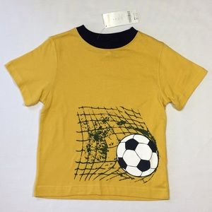 Gymboree Outlet Boys Soccer Graphic Tee Shirt